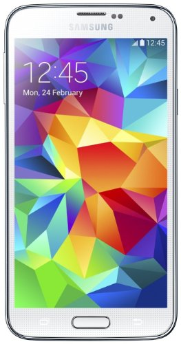 Foto Samsung G900 Galaxy S5 Smartphone, 16 GB, Bianco