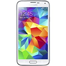 "Samsung Galaxy S5 - Smartphone libre Android (pantalla 5.1"", cámara 16 Mp, 16 GB, Quad-Core 2.5 GHz, 2 GB RAM), blanco (importado de Italia)"