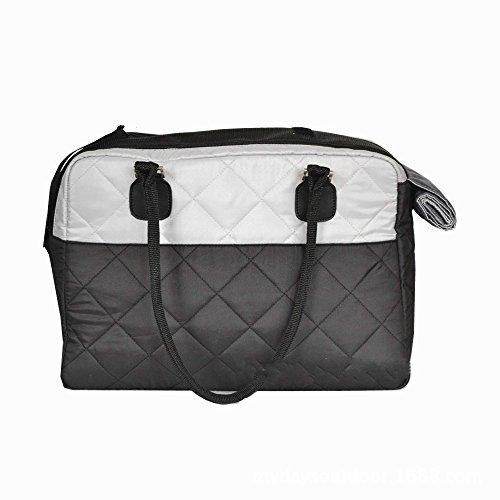 Mitefu Pet Dog Carrier Handbag Multi-functional Breathable Pet Tote bag for Outdoor Travel Walking Hiking, Black -