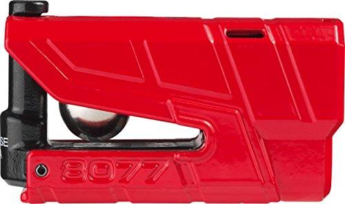ABUS 8077_Rojo Cadenas, Rouge, 48mm