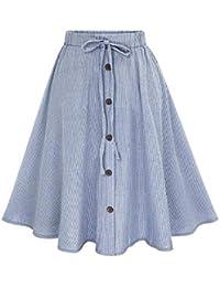 407d27ba71ab Suchergebnis auf Amazon.de für: Blaues Meer - Kleider / Damen ...