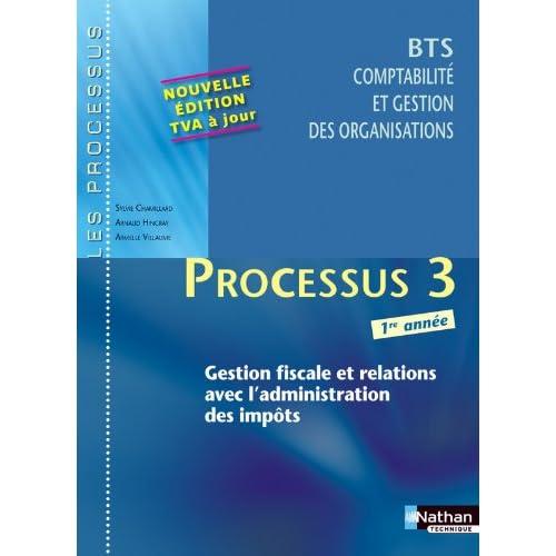 Processus 3 - Gestion fiscale et relations avec l'administration des impôts - BTS CGO 1re année