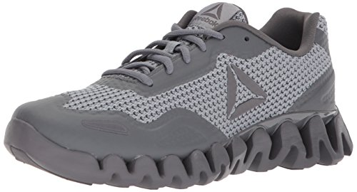 Reebok Men's Zig Pulse Running Shoe, Black