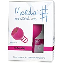 Merula Cup strawberry (pink) - Menstruationstasse aus medizinischem Silikon
