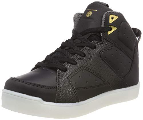 Skechers e- pro-street quest, sneaker a collo alto bambino, nero (black blk), 37 eu