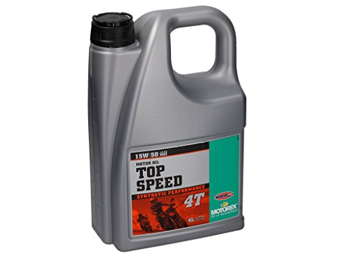 MOTOREX Top Speed 4T 15 W/50 parte synthetisches Olio motore a 4 tempi, 4 lit