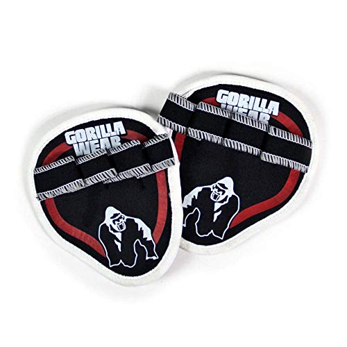 Gorilla Wear Palm Grip Pads - schwarz/rot - Bodybuilding und Fitness Accessorire