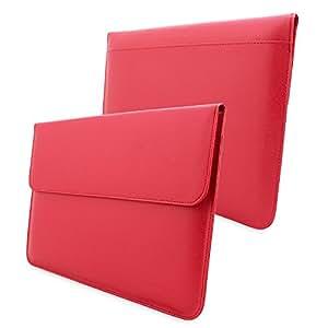 Macbook Pro 15 Sleeve (Rot), Snugg - Hülle mit lebenslanger Garantie für Macbook Pro 15