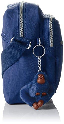 Kipling Deena, Borsa a Tracolla Donna Blu (Jazzy Blue)