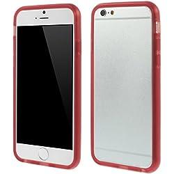 Mobitech Pro MOB63 Bumper de protection pour iPhone 6 Rouge