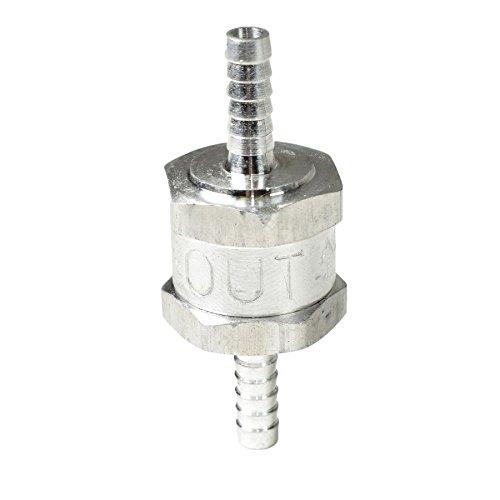 Válvula de no retorno unidireccional de combustible en línea de aluminio del...
