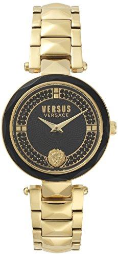 Versus Versace Orologio Analogueico Quarzo Donna con Cinturino in Acciaio Inox VSPCD2617