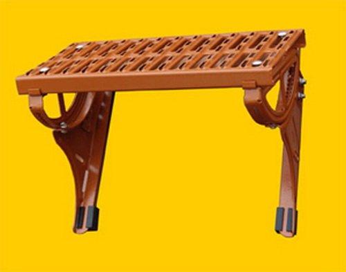 Standrost aus Stahl für Tondachziegel und Betonpfannen (rot)