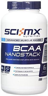 SCI-MX Nutrition BCAA Nanostack--120 Capsules by Sci-MX