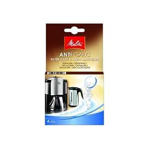 melitta anti calc filtro decalcificante capsule per macchine del caff e bollitori 4x12g. Black Bedroom Furniture Sets. Home Design Ideas