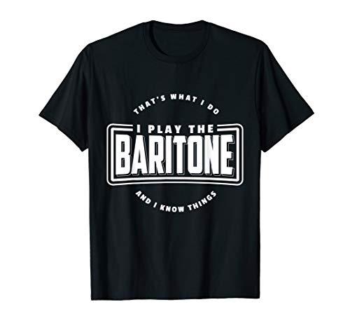 Saxophon Spieler Geschenk Saxophonist Bariton Instrument T-Shirt