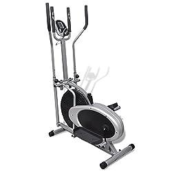 vidaXL Crosstrainer Ellipsentrainer Fitness Stepper Heimtrainer Cardiotrainer