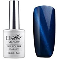 Elite99 Smalto Semipermanente Unghie Arte UV LED Gel Seire Magnetico Effetto Gatto Occhi 12ml 9918