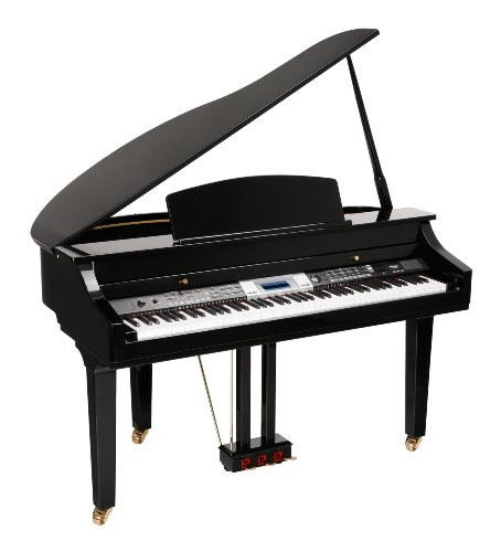 CLASSIC CANTABILE PIANO DIGITAL GP 500 COLIN NEGRO BRILLANTE