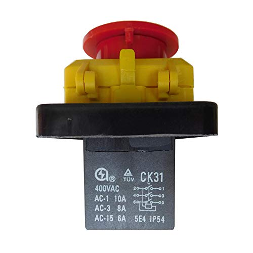 CK31 400V 6 pines Impermeable Electromagnético Pulsador