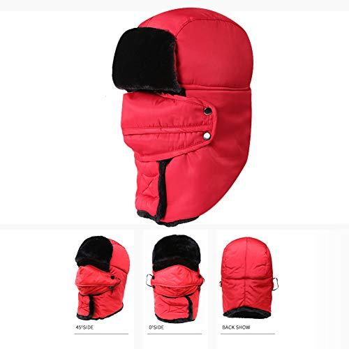 DYS@ Winter Trapper Männer Hut/Winddicht Maske Frauen Outdoor Ski Hut 1 STÜCKE,#3