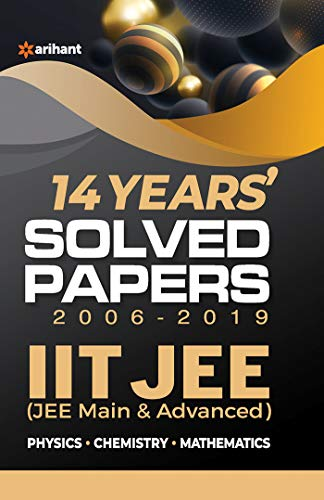 14 Years' IIT JEE Solved Papers 2020