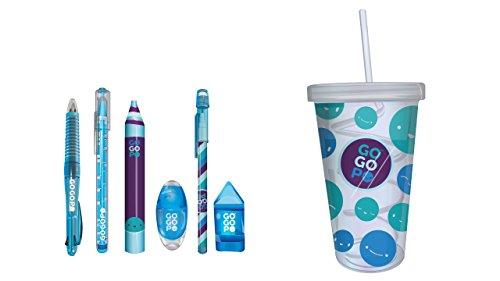 GOGOPO GOGOPO-GP1012 GP1012 Collectibles - Botella de Leche, Color Azul, Keycraft
