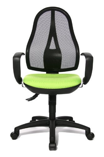 For Sale Topstar OP20QG05 Office Swivel Chair Open Point SY with Firm Armrests Cover Apple Green on Amazon
