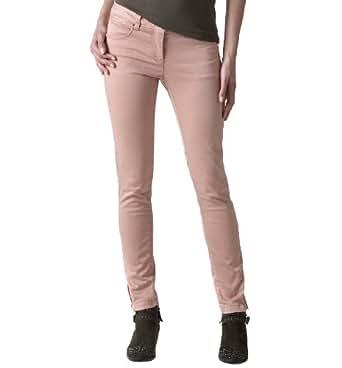 Promod Pantalon slim Vieux rose clair 40