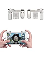 Ajudiya's PUBG Mobile Trigger || Transparent || 1 Pair of Sensitive Game Triggers for PUBG/Knives Out/Rules of Survival for All Android and iOS Phones (Pack of 1)