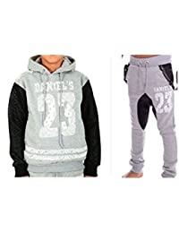 Daniel \u0027s , Jogging Sarouel et sweat enfant Daniel \u0027s 23 gris Taille de