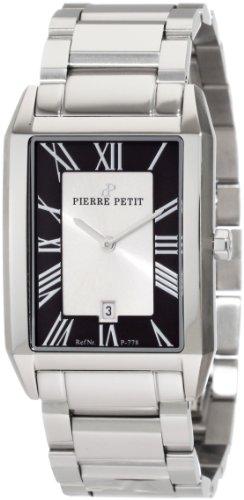 Pierre Petit - P-778C - Montre Homme - Quartz Analogique - Bracelet Acier Inoxydable Argent