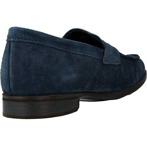 Mocassini donna, colore Blu , marca GEOX, modello Mocassini Donna GEOX U BESMINGTON Blu Blu