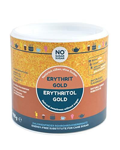 NO SUGAR SUGAR   Erythrit Gold (400g) Ersatz für Rohrzucker aus Erythrit