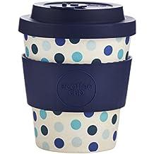 Ecoffee Cup Blue Polka Azul, Blanco Café 1pieza(s) tazón - Taza/