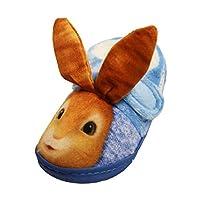 Socks Uwear Peter Rabbit Boys Porak Touch & Close Full Slippers