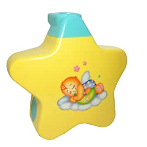 Webby Sleeping Stars Projector with Light and Music for Newborn