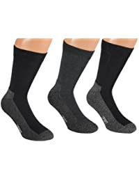 Vitasox Herren Wellness Socken Baumwolle mit Frotteesohle Herrensocken Funktionssocken 4er Pack