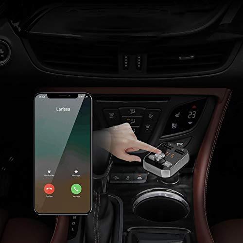 GreatFunAuto-Ladegerät, schnelles Aufladen des Autos Mini, das sicher helfen soll, das Multifunktions-Bluetooth-Auto-Ladegerät kabellos Stereo-Musik-Player schnell zu Laden - Schwarz