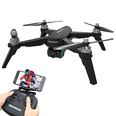 Goolsky JJPRO X5 EPIK RC Drone with Camera 1080P 5G Wifi GPS Suitcase Handbag Brushless Motor with 3 Battery