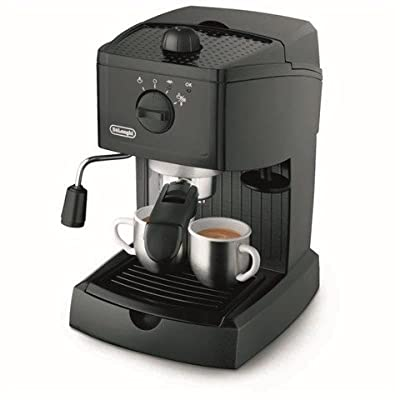 De'Longhi EC146B Traditional Pump Espresso Machine - Black (Certified Refurbished)