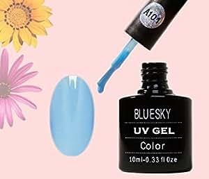 Bluesky Gel Polish A101 Blue Iris - UV Gel Soak off Nail Polish 10ml