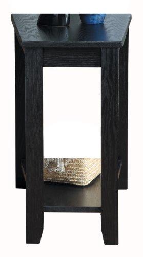 Homelegance 4728BK Chair Side Table, Black Finish