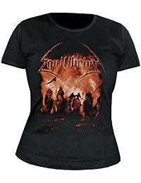 EQUILIBRIUM - Verbrannte Erde - Girlie Girl Damen Shirt - Größe Size S