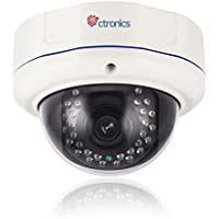 (auto zoom) Ctronics Security di sicurezza Dome Camera IP 2 Megapixel