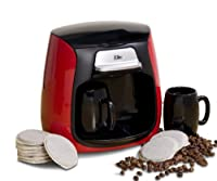 MaxiMatic EHC-233 Elite Cuisine Dual Cup Pod Coffee/Tea Maker
