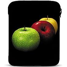 MySleeveDesign – Funda universal de neopreno para iPad Pro 9.7 , Air 2 y tablet de 9.7 / 10 / 10,1 pulgadas – VARIOS DISEÑOS Y COLORES - Colored Apple