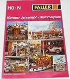 Faller 839, HO N, Kirmes Jahrmarkt Rummelplatz