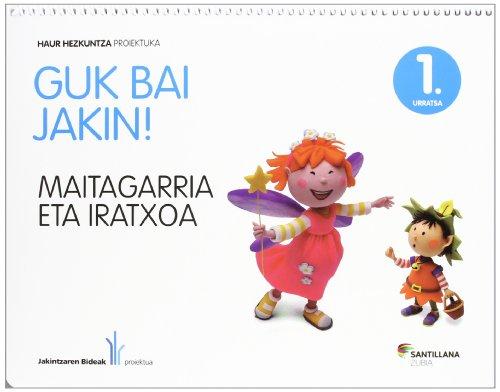 GUK BAI JAKIN! 1 URRATSA MAITAGARRIA - 9788498944181