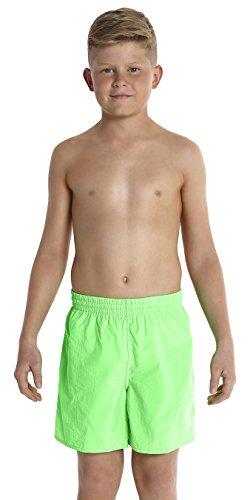 Speedo Jungen Badeshorts Challenge 15 Zoll, Fluo Green, verschiedene Größen
